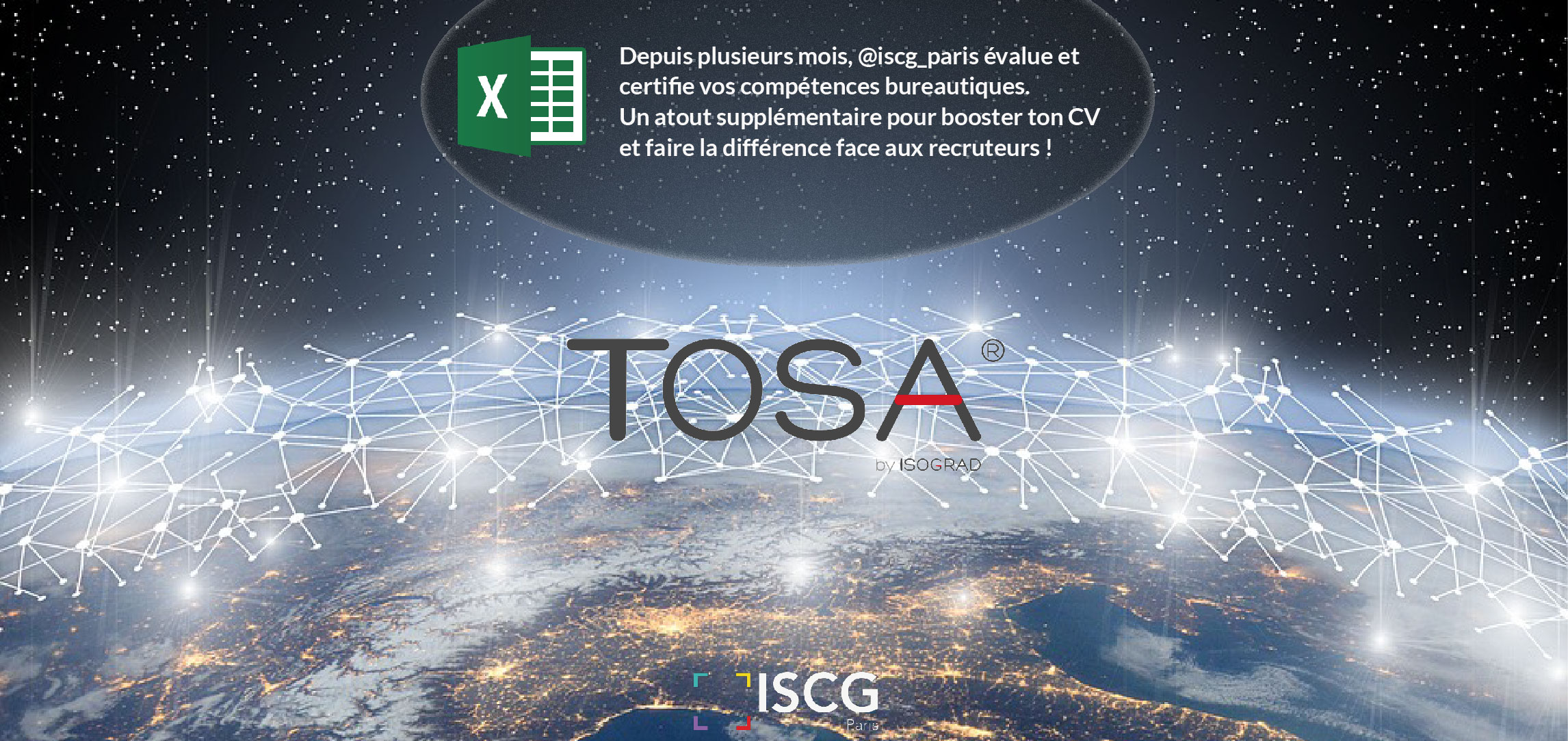 certification tosa - iscg paris